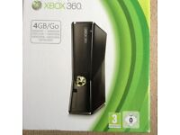 Xbox 360 package incl Kinect
