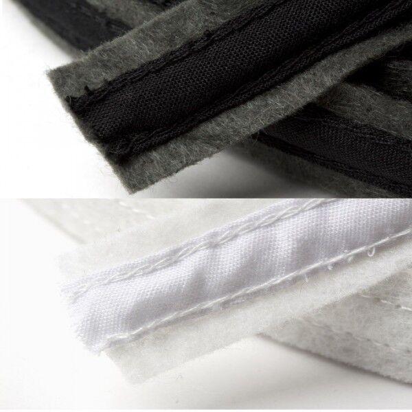 Rigilene Satin Covered Polyester Boning 15mm x 1m In White