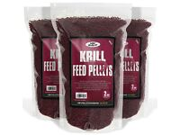 A 1kg bag of krill pellets 4mm