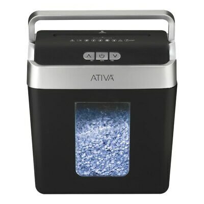 Ativa 8-sheet Micro-cut Lift-off Shredder With Handle Omm83b