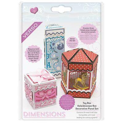 Tonic Studios Dimensions Die Set Toy Box Kaleidoscope Box Decorative Panel | Set