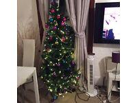 Xmas tree with decorations