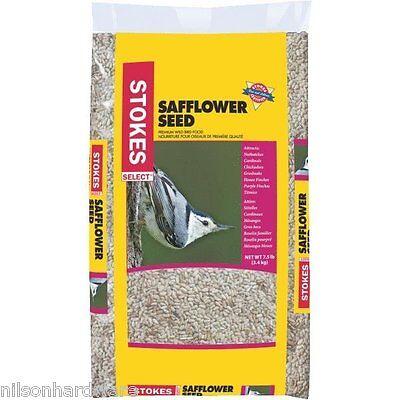 6-Stokes Select Safflower Cardinal Songbird Bird Food Single Seed 7.5 # Bag 583