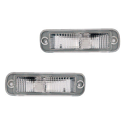 Fits Chevrolet Express Savana Driver Passenger Signal Parking Light Lamp 1 Pair