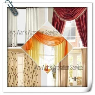 Curtain and cushions alteration