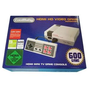 Mini Nes Nintendo 600 jeux branchement HDMI avec deux manettes