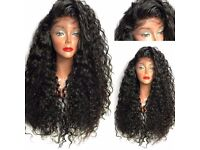 Wigs/360 Closure/Unprocessed Brazilian hair/Mongolian/Peruvian/Cambodian hair/Lace closure/HMW