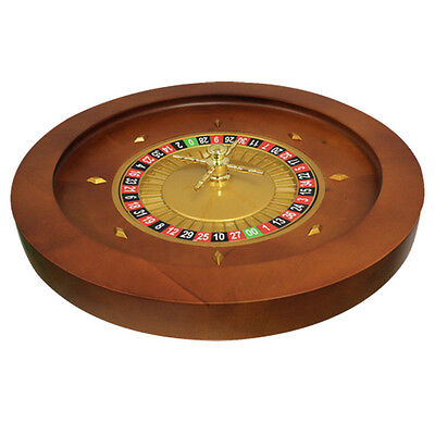 """20"""" Solid Wood Roulette Wheel for Roulette Tables"""