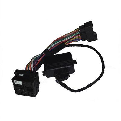 Can Bus Adapter + TV Free Tp 1.6 -> 2.0 Rns Retrofitting Rns 510 Mfa Satnav Bow