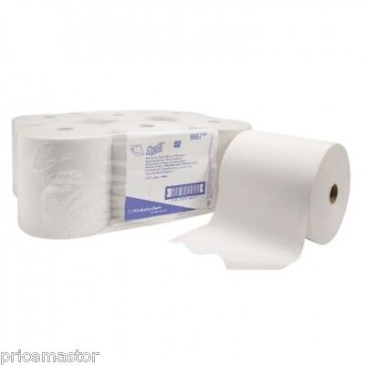 Kimberly-Clark SCOTT Handtuchrolle Airflex 6667 20cmx304m weiß 6 Rol./Pk.