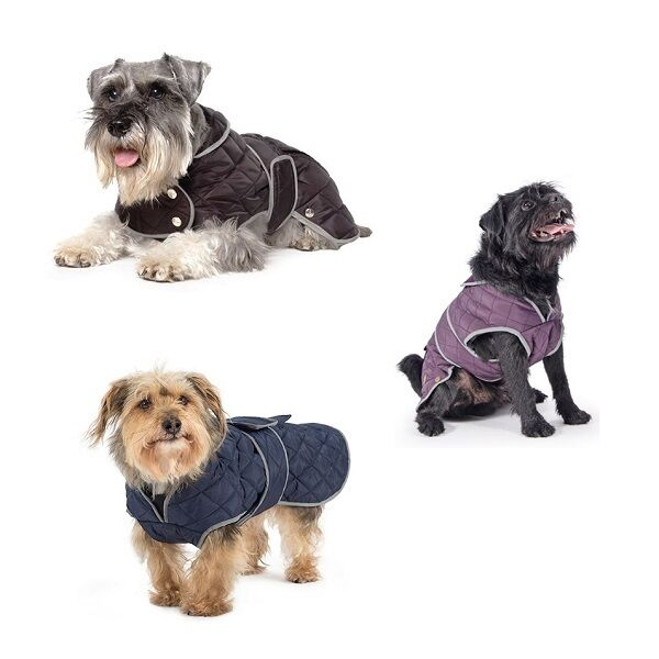 Ancol Muddy Paws Jacket Waterproof Warm Dog Coat All Weather Puppy Coats 9