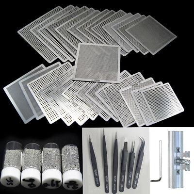 4 In1 Kit Direct Heating Reballing Station498 Pcs Bga Stencil Reballing Stencil