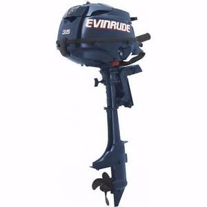 "Evinrude 3.5hp portable - 4 stroke 15"" Osborne Park Stirling Area Preview"