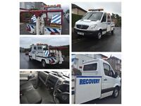 07 plate Mercedes sprinter spec lift recovery truck will carry 4wd & motorbikes 3.5 ton