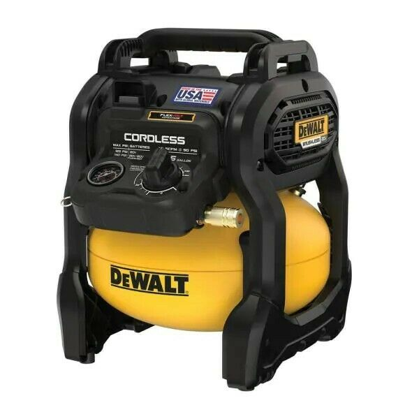 🙂2.5 Gal. 140 psi Portable 20-Volt Cordless Air Compressor with (Tool-Only)