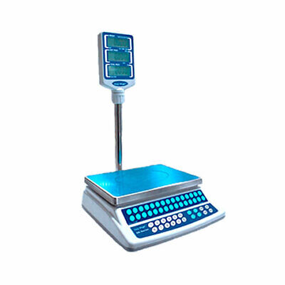 Easy Weigh 30 Lb Price Computing Scale W Pole Model Ck-p30plus