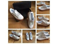 Puma Creepers Rihanna Trainers Sneakers Shoes Footwear Girls Females Women Ladies