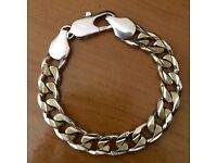Champagne Gold & Silver Plated Bracelet