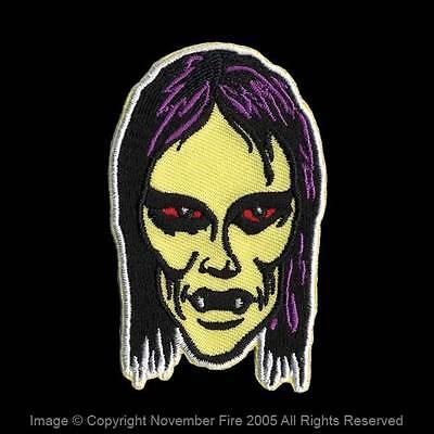 Patch Vampire Girl Walking Dead Old School Horror Monster Kid Nosferatu NFP016](Girl Walking Dead)