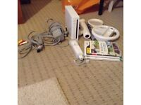 Nintendo Wii Console with Games and memory card