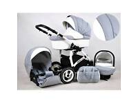 White lux travel system