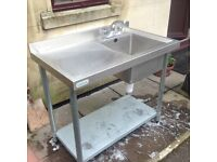 Stainless sink 1000mm