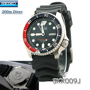 BRAND NEW Seiko Divers Automatic 200m SKX009J MADE IN JAPAN