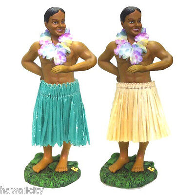 Hawaiian Hula Boy Wiggling Dashboard Doll from Hawaii - RARE No Longer Made