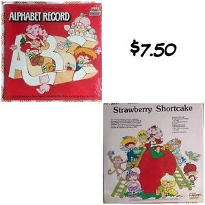 5 vintage Strawberry Shortcake record albums ($7.50 each) Kitchener / Waterloo Kitchener Area image 2