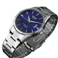 Mens Stainless Steel Business Watch Analog Date Quartz Sport Swidu Wrist Watches - unbranded - ebay.co.uk
