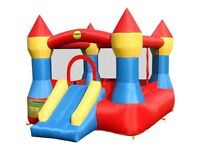 Bouncy castle with slide 2 months old used once