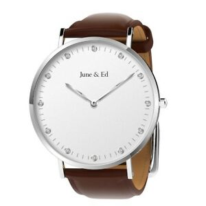 June & Ed Quartz Men's Watch