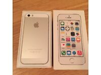 Silver IPhone 5s for sake