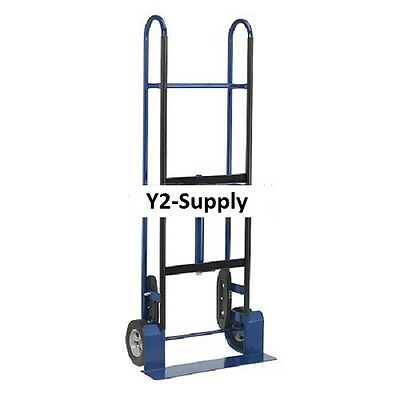 New Steel Appliance Hand Truck 800 Lb. Capacity 8 Mold-on Rubber Wheels