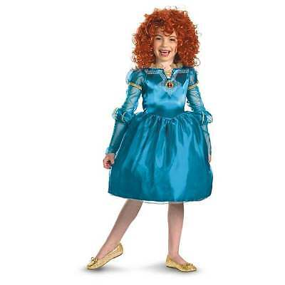 NWT DISNEY PIXAR BRAVE MERIDA COSTUME WITH WIG M 7 8 HALLOWEEN DRESS UP](Pixar Up Costumes)