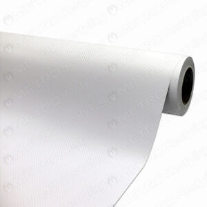 3M Scotchprint 1080 Gloss White Carbon Fiber Vinyl Wrap Film 5ft x 1ft (5 Sq/ft)