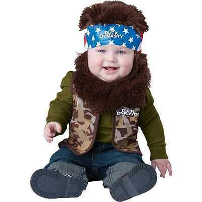 Duck Dynasty WILLIE Infant toddler costume 18-24 mo 2 Halloween