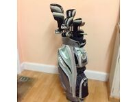 Ladies set of Prince golf clubs