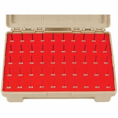Vermont Gage 50 Pc .0110- .0600 Black Guard Zz Minus Pin Gage Set