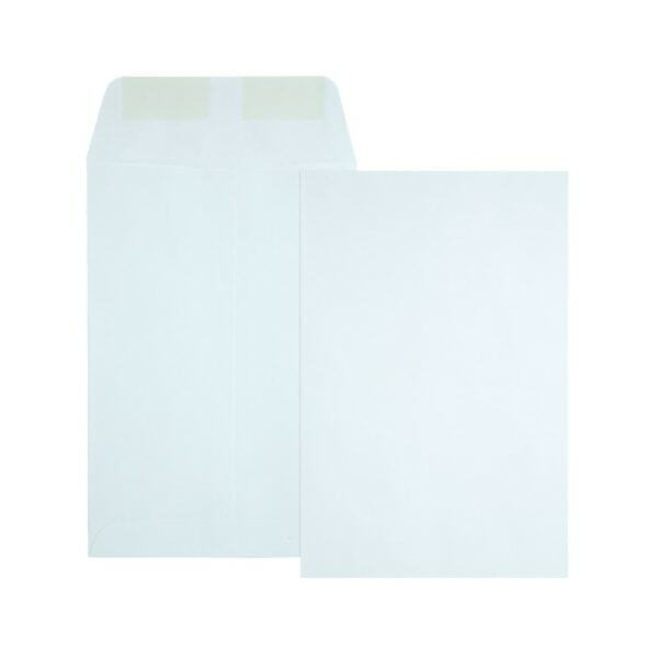 "Office Depot Brand Large Format Open-End White Envelopes, 6 1/2"" x 9 1/2"", 500Pk"