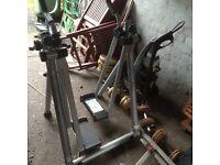 Glider / cross trainer exercise machine £15