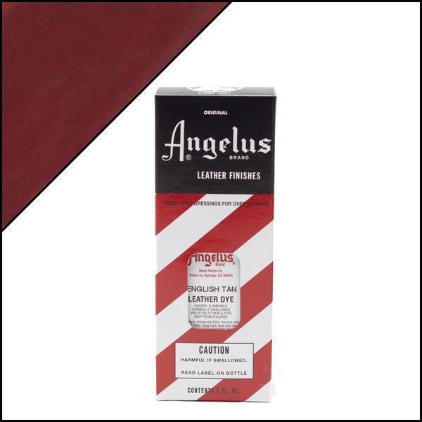 Angelus ENGLISH TAN Leather Dye 3 oz. with Applicator for Shoes Boots Bags NEW Crafts
