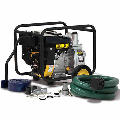 Champion 66520 - 158 Gpm 2 Semi-trash Water Pump Package