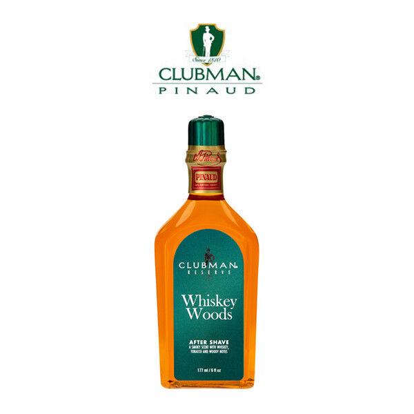Clubman - Whiskey Woods After Shave Lozione Dopobarba Tabacco da 117 ml