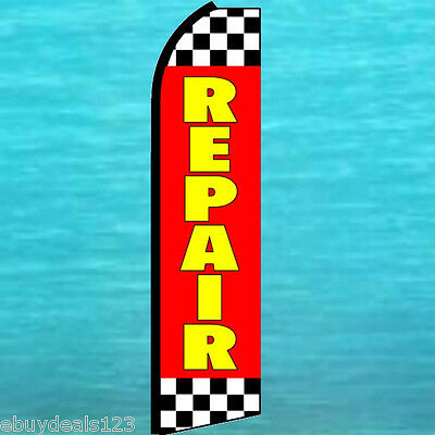 Repair Flutter Feather Flag Swooper Auto Rv Boat Truck Advertising Sign Banner