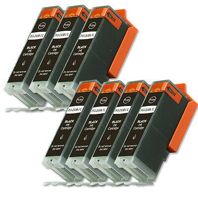 7 BLACK Replacement Printer Ink for Canon PGI-250PGBK MX920