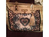 Gorgeous river island bag.. V good condition..