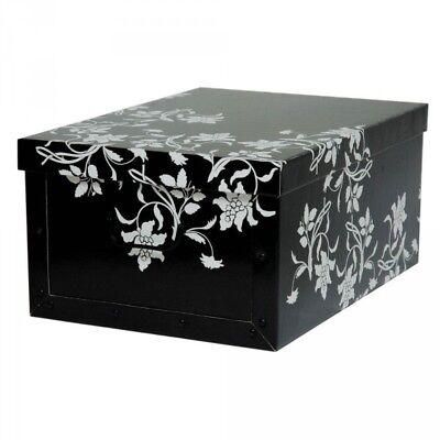 XXL Dekokarton Karton Geschenkkarton Box Schachtel Box Aufbewahrungsbox Barock S