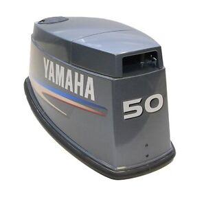 YAMAHA-50-HP-OUTBOARD-MARINE-BOAT-MOTOR-ENGINE-COWLING