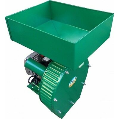 Feed Mill Grinder Grain Wheat Crusher Corn Oats 220-240v 500 Kghour 2500 Watt